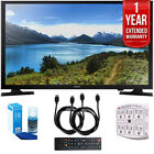 Samsung UN32J4000 32-Inch 720p LED TV (2015) with 1 Year Extended Warranty Kit