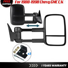 Manual Mirrors Telescoping Pair For 88 89 90 91 92 93 94 95 96 97 98 Chevy Gmc