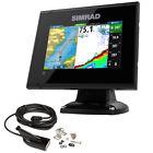 Simrad GO5 XSE Combo with Med/Hi DownScan Transom Mount Transducer & Navionic...