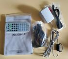 Insignia Portable DVD Parts, Car Charger,Instructions, Remote control,adapter