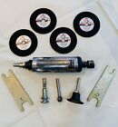 CENTRAL PNEUMATIC 1/4'' Inline Die Grinder Kit Pre-owned With Attachments #53177