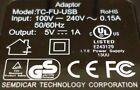 Generic TC-FU-USB Home USB Charger