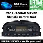 2001 Jaguar Climate Control Heater AC Head Repair Service 01