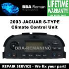 2003 Jaguar Climate Control Heater AC Head Repair Service 03
