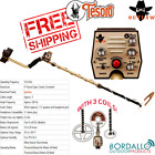 TESORO OUTLAW WITH 3 COILS METAL DETECTOR