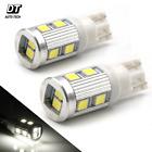 2X T10 168 6000K White High Power 2538 Chip Interior High Power LED Lights Bulbs