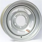 "15"" Silver Directional Trailer Wheel  (6-5.5)"