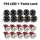 10 Pack PC168 Instrument Panel Cluster Dashboard Led Light Bulb Red For GM Chevy