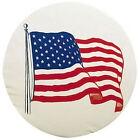 ADCO 27 INCH RV CAMPER TRAILER SPARE TIRE WHEEL COVER USA AMERICAN FLAG 1787-J