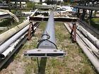 "27 feet 11 inches  Black Aluminum Sailboat Mast (5.7"" x 3.5"")"
