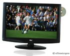 "19"" LCD LED 1080P HD TV TELEVISION BUILT-IN DVD PLAYER AC/DC 12V CAR CORD NEW"