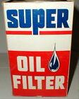 SUPER Oil Filter SP-124 Fits GM V8 Products Buick, Olds, Cad, 53-59 Vintage New