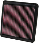 K&N PERFORMANCE REPLACEMENT AIR FILTER FOR 08-18 SUBARU WRX STI 33-2304