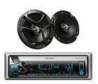 KMR-D562BT Boat Bluetooth CD/MP3 USB iPod iPhone Pandora Receiver+ Car Speakers