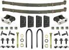 67 68 69 Camaro & Firebird 4 Leaf Rear Springs & Install Kit OE Correct USA!