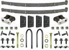 67 68 69 Camaro & Firebird 5 Leaf Rear Springs & Install Kit OE Correct USA!