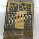 Vintage 1930-40s Ve-Po-Ad Calculator, Chicago, Ill with Original Leather Case