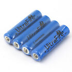 4PCS UltraFire AAA 10440 650mAh 3.7V Rechargeable Li-ion Battery for Flashlight