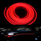 6.5ft Cigarette Lighter Red Decorative Atmosphere LED Cold EL Neon Lights Strip