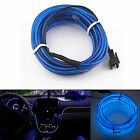 6.5ft Panel Gap Neon Lamp Strip Blue Cold EL OLED Interior Light Trim Atmosphere