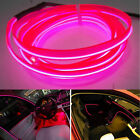 Pink Panel Gap Interior Trim Light Cold EL Neon Lamp Atmosphere Glow OLED Strip