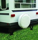 """Camco Tire Protector 33""""-35"""" 2 Pack Cover camper Vinyl RV Wheel Weatherproof NEW"""