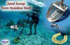 "New Sand Scoop ""Standart -9m"" Metal Detector Tool from Genuine Stainless Steel"