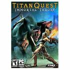 Titan Quest Immortal Throne Add-On Epic RPG PC NEW