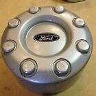 Ford Dually rear center cap hubcap 8 lug silver