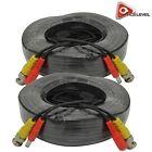 AceLevel Premium 100ft BNC Extension Cables for Lorex Systems - 2 Pack (Black)