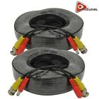 AceLevel Premium 100ft BNC Extension Cables for Night Owl Systems - 2 Pack Black