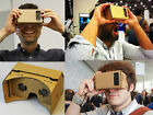 DIY Google Cardboard Virtual 3D Glasses for iPhone Samsung ect Phones NEW