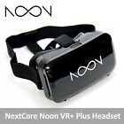 NextCore Noon VR+ Plus Headset for Android/iOS Smartphones White Video Glass