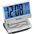 NEW Westclox 72021x Electric Lcd Display Usb-charging Alarm Clock