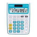 Casio MJ-12VC-BU Electronic Calculator MJ12VC Blue