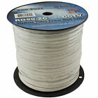 500' Ft RG59 CCTV Siamese Power Video Security Camera Cable Bulk  White