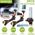 2 pcs Car Xenon Super Vision HID 9006 8000K 35W Headlight Lamp Replacement Light