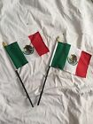 Mexico Low rider Stick Flag