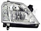 Headlight Front Lamp Fits Left OPEL Meriva MPV 2003-2010