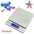 USA Portable Digital Jewelry Precision Scale 500g x 0.01g w/ Piece Counting ACCT