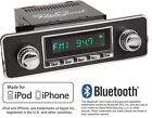 RetroSound 68-85 VW Porsche Mercedes Long Beach Radio iPhone Bluetooth Aux In