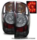 FOR 09-11 TOYOTA TACOMA/PRE-RUNNER RED SMOKED TINTED LED TAIL LIGHTS BRAKE LAMP