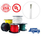 6 AWG Marine Wire Spool Tinned Copper Primary/Battery Boat Cable 50' White USA