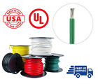 8 AWG Marine Wire Spool Tinned Copper Primary/Battery Boat Cable 50' Green USA