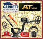 GARRETT AT GOLD Metal Detector + Nugget Hunter's Essentials-Pinpointer, Pick, CC