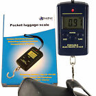 New 40Kg/10g Portable Electronic LCD Digital Hanging Luggage Weight Hook Scale F