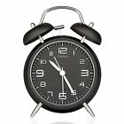 """Peakeep 4"""" Twin Bell Alarm Clock with Stereoscopic Dial, Backlight, New"""