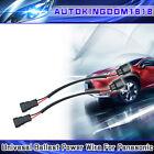 2 NEW Ballast Power Plug Connector Harness Wire for Matsushita Xenon HID Ballast