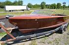 1956 Chris Craft 22' Continental Original wood classic NO RESERVE