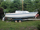 1973 O'Day 22 Shoal Draft Keel Sailboat With Trailer